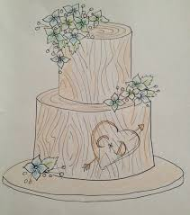 27 best cake sketches images on pinterest cards cake business