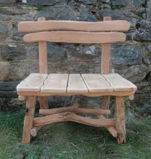 Rustic Outdoor Bench by Wooden Benches Outdoor Rustic Garden Benches Rustic Wooden
