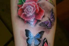 butterfly memorial tattoos