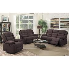 3 piece recliner sofa set sofa set flair hoffman collection lastman s bad boy