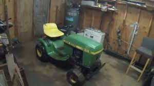 John Deere 48c Mower Deck Belt by John Deere 108 Lawn Tractor Review Youtube