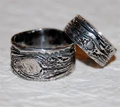 camo wedding bands his and hers wedding rings ideas blue patterned his and camo wedding rings