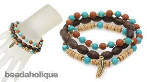 bead bracelet kit images Instructions for making the boho gemstone bracelet kit jpg