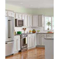 home depot refacing kitchen cabinet doors the home depot installed cabinet makeover grey doors