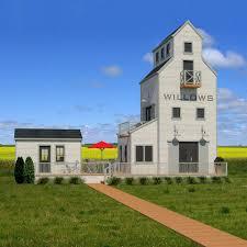 canadian homes regina company designs grain elevator home as ode to saskatchewan