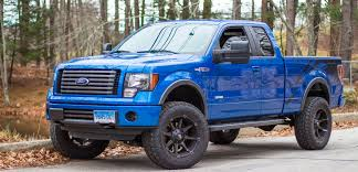 truck ford blue 2011 blue flame metallic fx4 build