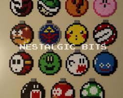 choose any 3 handmade nintendo ornaments