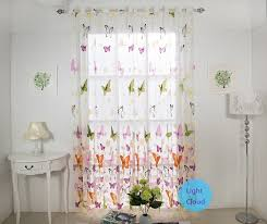 White Wood Curtain Rod Kids Room Curtain Rods Pink Gray Color Theme Pink Green Floral