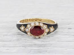 mourning ring best 25 mourning ring ideas on memento mori ring