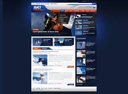 web design news website design 42924 ski news custom website design ski