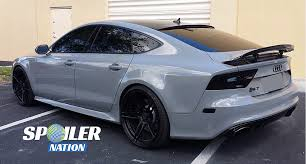audi a7 kit 2010 2017 audi a7 rs7 s7 tuner style rear lip spoiler