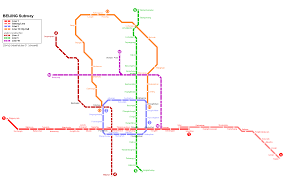Beijing Subway Map by Travel Japan And China 日本旅