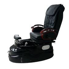 pjs luxury compact spa pedicure chair black u0026 white pjs from