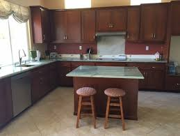 How High Kitchen Wall Cabinets How High Should I Put Tile On This Wall