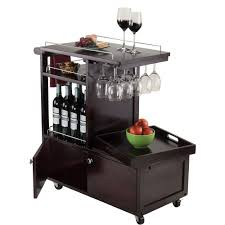 galen entertainment cart with serving tray walmart com