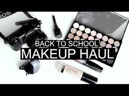 mua makeup school drugstore affordable back to school makeup haul 2016 superdrug
