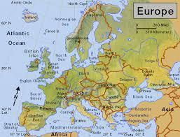 europe peninsulas map europe clip image001 gif