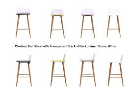 chelsea bar stool chelsea bar stool with transparent back black stone lime green