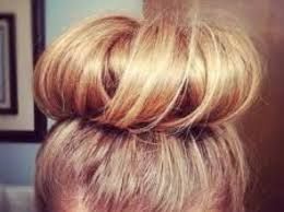 donut bun hair how to do a donut bun snapguide