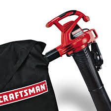 craftsman 24031 12 amp electric leaf blower vac sears outlet