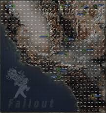 Fallout New Vegas Chances Map by Fallout Random Encounters The Vault Fallout Wiki Fallout 4