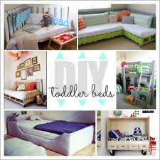 homemade toddler bed from outstanding to easy 20 diy toddler beds