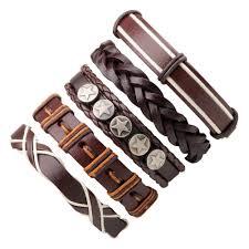 man black leather bracelet images Bracelets for men for sale mens bracelets online brands prices jpg