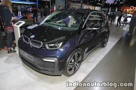 2018 bmw i3 front three quarters at iaa 2017 indian autos blog