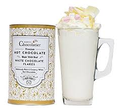 hot chocolate gift set luxury white hot chocolate gift set co uk grocery