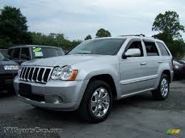 jeep grand cherokee overland 2008 jeep grand cherokee overland 4x4 in bright silver metallic