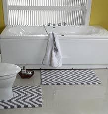 Grey Chevron Bath Rug 224 Best Bath Rugs Images On Pinterest Bath Rugs Memory Foam