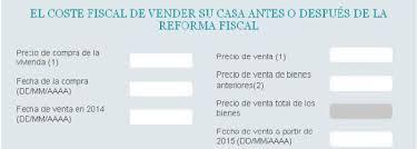 gastos deducibles de venta de vivienda 2015 en el irpf cómo declarar la venta de una casa en la declaración del irpf