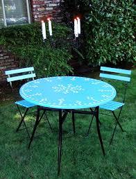 Bistro Patio Tables Incredible Mosaic Bistro Patio Set Dining Room Mosaic Bistro Table