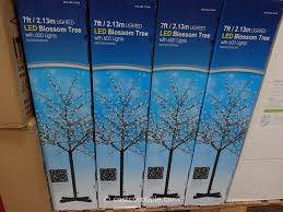 4 Christmas Tree With Lights by Christmas Trees Costco Christmas Lights Decoration