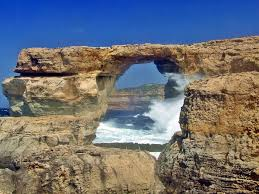 azure window in malta collapses into the sea before travel
