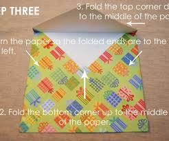 How To Fold Paper For Envelope Scrapbook Paper Envelope 5 Steps