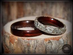 wooden wedding ring sets best 25 wood engagement ring ideas on boho engagement