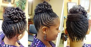 twisted bun hairstyle on african american hairstyles ideas twist african american hairstyles cute african