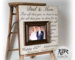 50 wedding anniversary gift ideas the 25 best parents anniversary gifts ideas on