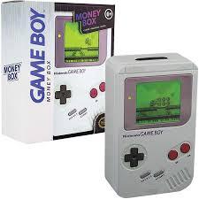 money box gameboy tin money box forbidden planet