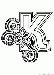 coloriage alphabet winnie lettre avec bourriquet imprimer az