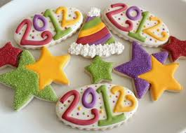 Happy New Year Cake Decoration by Happy New Year Cookies U2013 The Sweet Adventures Of Sugar Belle
