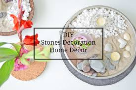 diy stones decoration home decor dekoracje z kamieni zrob to