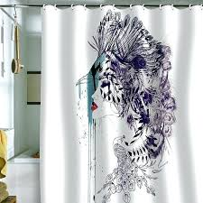 Shower Curtains For Glass Showers Shower Curtains For Glass Showers Engaging Small Bathrooms With