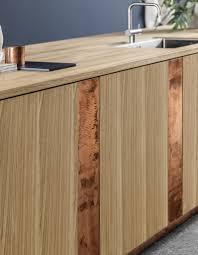 cuivre cuisine photo cuisine en bois excellent cuisine en bois massif en plaqu