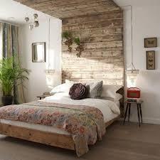 Rustic Bed Headboard High Ceiling Wood Slats Ceiling Pinterest - Bedroom headboards designs