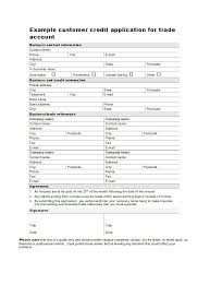 45 free credit application form templates u0026 samples u2013 free