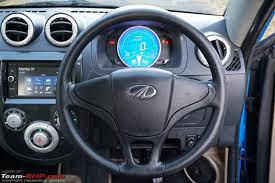Mahindra Reva E20 Interior Mahindra E2o Plus Official Review Team Bhp