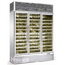 china air cooling stainless steel wine cooler wine display rack
