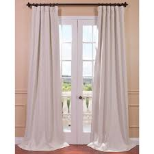Rodeo Home Drapes by Exclusive Fabrics U0026 Furnishings Semi Opaque Cottage White Bellino